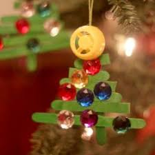 Cute And Fun Christmas Crafts For KidsChristmas Tree Ornament Crafts