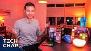 Philips Hue Lighting Youtube Philips Hue Smart Lights Setup With Alexa Google Home The Tech Chap