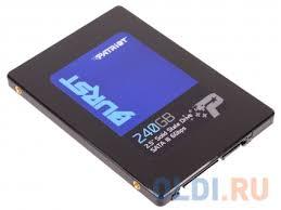 SSD накопитель <b>Patriot</b> BURST PBU240GS25SSDR 240Gb ...
