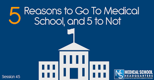 5 Reasons To Go To Medical School And 5 To Not Medical