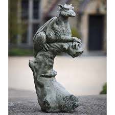 campania international gargoyles griffins garden statues on campania international oscar the gargoyle cast stone garden statue hayneedle