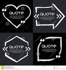 vector set of quote forms template stock vector image 62406976 vector set of quote forms template