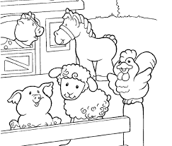 Small Picture Farm Animal Coloring Pages Coolagenet