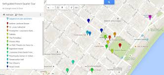 garden district new orleans walking tour map. Brilliant District Things To See In The French Quarter A Selfguided Tour And Garden District New Orleans Walking Tour Map O