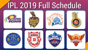 Ipl 2019 Schedule Download Full Time Table In Pdf Venue