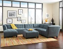 Living Room Furniture St Louis Jonathan Louis Belaire Contemporary Sectional Stoney Creek