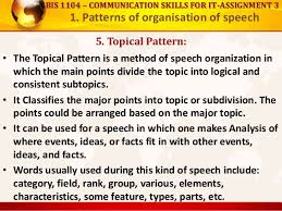 Topical Organizational Pattern Impressive Patterns Of Organization Of Speech And How To Lead Discussions And S