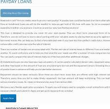 Easy Money Loan Chart Iloansau Posts