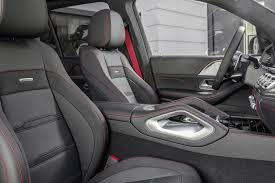 The interior of the gle 53 coupe, like other amg products, is a stylish and comfortable place to be in. 2021 Mercedes Amg Gle 53 Suv Interior Photos Carbuzz