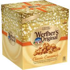 werther s original holiday caramel popcorn gift box 10