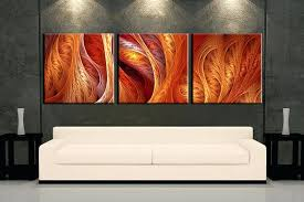 brown canvas wall art living room art 3 piece canvas wall art modern decor brown modern