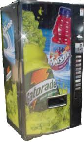 Gatorade Vending Machine Commercial Amazing Dixie Narco 48 Gatorade Front [DN48 Gartorade 48] The