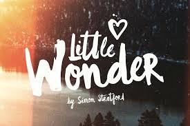little wonder font