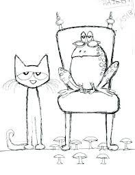 Pete The Cat Coloring Page Luxury Cat Coloring Pages To Print New