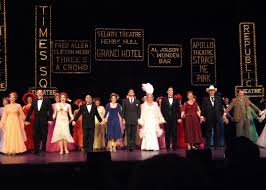 coverage al theatre west s 42nd street opening night curtain