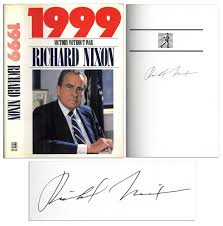 lot detail richard nixon signed first edition of his book  richard nixon signed first edition of his book 1999 victory out war