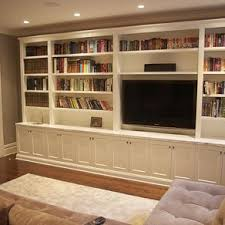 Small Picture Custom Built Wall Units Custom Made Built In TV Wall Units