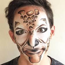 giraffe makeup for men