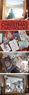 Jingle Bell Garland Jingle Bell Garland Christmas Card Display Bren Did