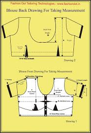 Tailoring Class How To Take Blouse Measurement From Customers