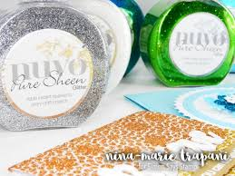 How To Nuvo Products From Tonic Studios Simon Says Stamp Blog