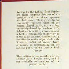 george orwell an exhibition from the daniel j leab collection victory or vested interest notice opposite title page