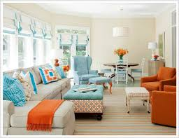 Example of a trendy open concept living room design in DC Metro with white  walls