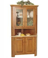 Wooden furniture for kitchen Wood Corner Hutches Amish Direct Furniture Best Amish Dining Room Sets Kitchen Furniture
