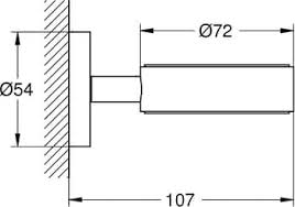 <b>Держатель Grohe</b> Essentials 40369GL1 для стакана/мыльницы ...