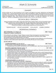 Business Analyst Resume Awesome Create Your Astonishing Business Analyst Resume And Gain 39