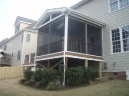 screened in deck. To Learn More About Screened Porches And Decks In Wake Forest, NC, Request A Free Estimate, Call Woodcrest Construction Today. Deck