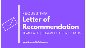 Asking For A Recommendation Letter From A Professor How To Ask For A Letter Of Recommendation