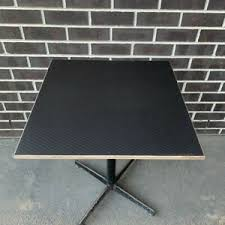 How to keep a plywood tabletop from flexing. Black Cafe Square Table Tops High Quality Birch Plywood With Hexagon Finish Ebay