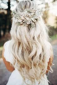 down wedding hair. Half Up Half Down Hair hitchedcouk