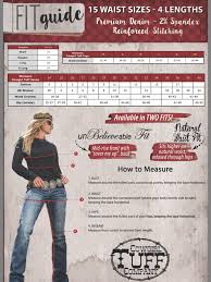 Tuff Jeans Size Chart Cowgirl Tuff Jeans Timeless