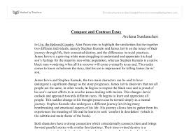 Comparison And Contrast Essays Examples Block Compare Contrast Essay How To Write A Compare And