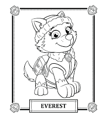 Paw Patrol Coloring Sheets Chase Rubble Page Pages Plays With And