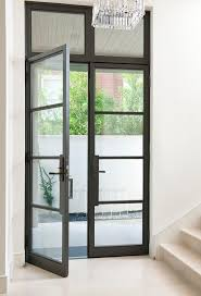 Perfect Modern Glass Exterior Doors New Canaan Residence Pivot Front Entry  To Design Decorating