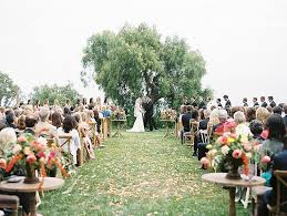 beautiful and bright vintage wedding at catalina view gardens