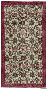 turkish vintage rug 3 6 x 6 11