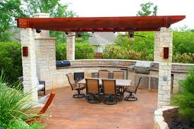 Outdoor Kitchen Designs With Pool Best Decoration