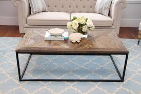 new york hamptons style coffee table