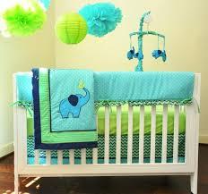 boy elephant nursery bedding