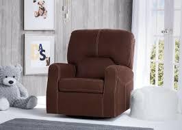 swivel rocking chairs for living room. Delta Children Cocoa (258) Marshall Nursery Glider Swivel Rocker Chair, Hangtag, B1b Rocking Chairs For Living Room