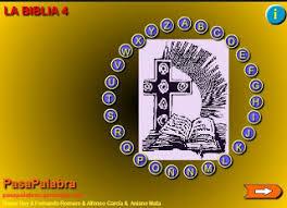 Resultado de imagen de pasapalabra biblia