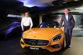 Explore the new mercedes benz cars at our showroom and book your test drive now! Mercedes Benz Amg Gts Launches In India At Rs 2 4 Crore