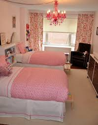 Pink Bedroom For Girls Love Layout Of Room Bookshelf Divider Curtains And Collage Pics