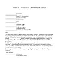 Financial Advisor Job Description Resume Financial Advisor Introduction Letter Free Resume Templates 85