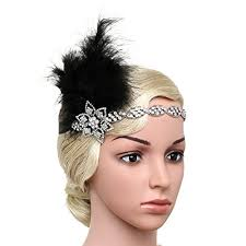 Gatsby Hairstyles 52 Amazing BABEYOND Vintage 24s Flapper Headband Roaring 24s Great Gatsby