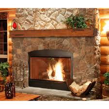 Ideas U0026 Tips Delectable Stone Fireplace Mantel Kits Surround With Fireplace Mantel